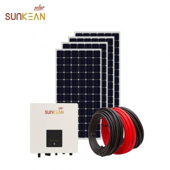 on grid solar energy power panel system